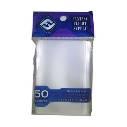 Clear Sleeves Standard European Board Game Size (50) - FFG