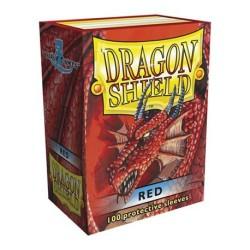Sleeves Dragon Shield (100) - Red