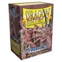 Sleeves Dragon Shield (100) - Fusion