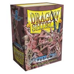 Sleeves Dragon Shield (100) - Fusion