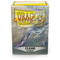 Sleeves Dragon Shield (100) - Clear Classic