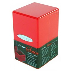 Deck Box - Satin - Rouge