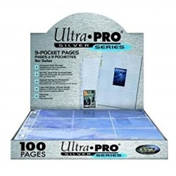 Ultra Pro Silver Series - 9-Pocket Pages