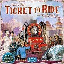 Les Aventuriers du Rail - Asie + Legendary Asia