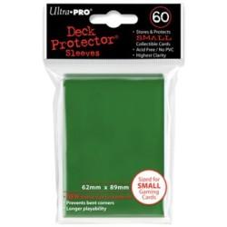 Small Deck Protector Sleeves (60) - Vert