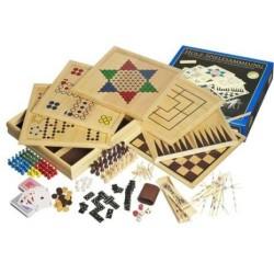 Collection de jeux en bois