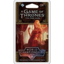 A Game of Thrones LCG, Second Edition - World Championships 2016 Deck
