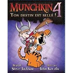 Munchkin 4 - Ton Destin est Sellé !