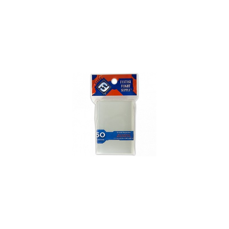 Clear Sleeves Mini European Board Game Size (50) - FFG
