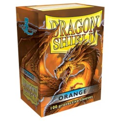 Sleeves Dragon Shield (100) - Orange