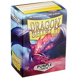 Sleeves Dragon Shield (100) - Purple Matte