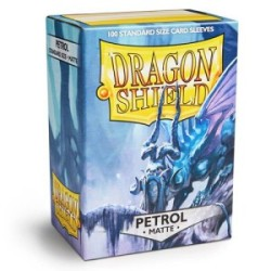 Sleeves Dragon Shield (100) - Petrol Matte