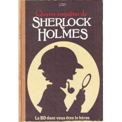 La BD dont vous êtes le héros : Quatres enquêtes de Sherlock Holmes