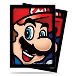 Super Mario Deck Protector Sleeves (65) - Mario
