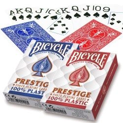 Carte à jouer - Bicycle Prestige 54 cartes