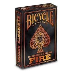 Carte à jouer - Bicycle Elements Series Fire 54 cartes