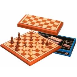 Coffret d'échecs Belgrad, case 40 mm