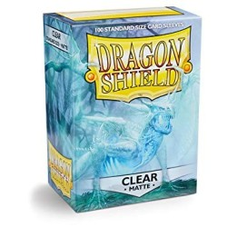Sleeves Dragon Shield (100) - Clear Matte