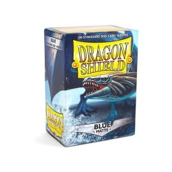 Sleeves Dragon Shield (100) - Blue Matte