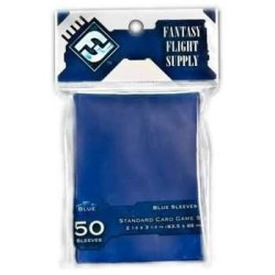 Blue Sleeves Standard Card Game Size (50) - FFG (63.5x88 mm)