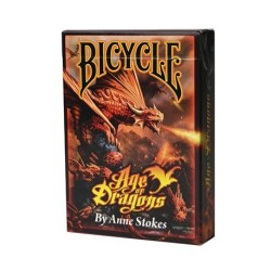 Carte à jouer - Bicycle Age of Dragons 54 cartes