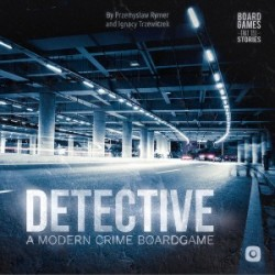 Detective A Modern Crime Board Game
