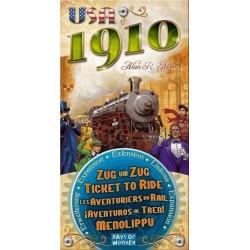 Les Aventuriers du Rail - USA 1910