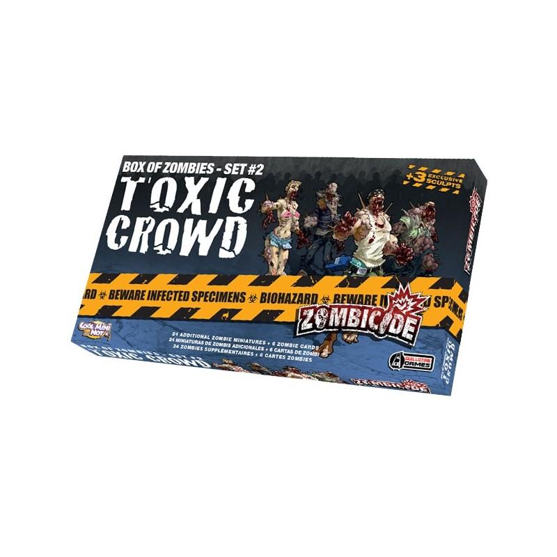 Zombicide Box of Zombies Set 2 : Toxic Crowd