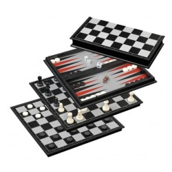 Backgammon / Échecs / Dames