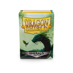 Sleeves Dragon Shield (100) - Emerald Matte