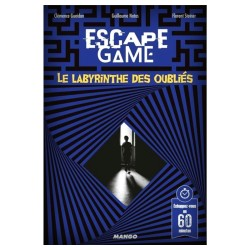 Escape Game - Le Labyrinthe des Oubliés (Livre)