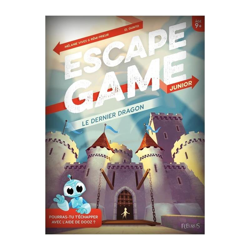 Escape Game Junior - Le Dernier Dragon (Livre)