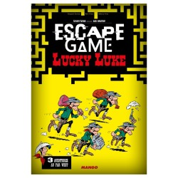 Escape Game - Lucky Luke (Livre)