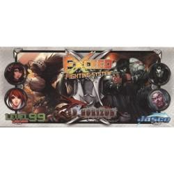 Exceed Fighting System - Satoshi, Mei Lien, Baelkhor et Morathi