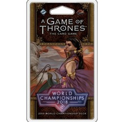 A Game of Thrones LCG, Second Edition - World Championships 2018 Deck