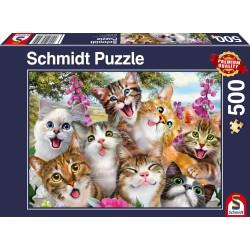 Puzzle - Pèche au lac - 500 pièces