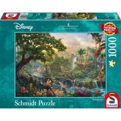 Puzzle 1'000 pièces - Disney : Le livre de la jungle