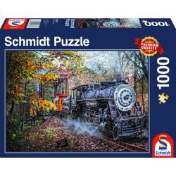 Puzzle 1'000 pièces - La fascination du chemin de fer