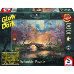 Puzzle 1'000 pièces - Central Park en automne