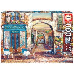 Puzzle 4'000 pièces - Le petit café