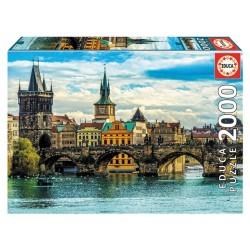 Puzzle 2'000 pièces - Vue de Prague