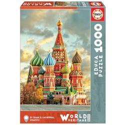 Puzzle 1'000 pièces - Cathédrale de Saint-Basile, Moscou