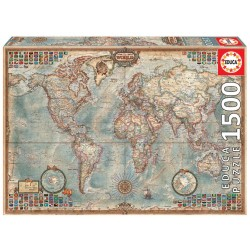 Puzzle 1'500 pièces - Carte politique