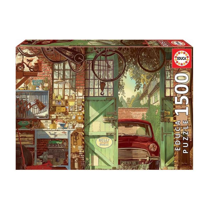 Puzzle 1'500 pièces - Old garage