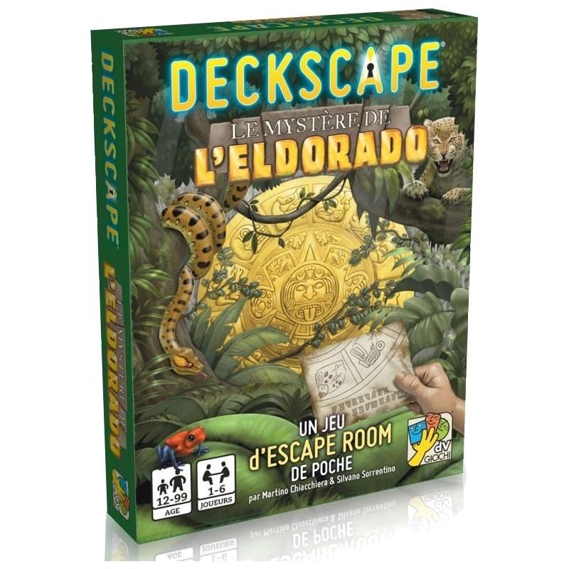 Deckscape Le Mystère de L'Eldorado
