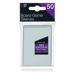 Ultra Pro Mini European Board Game Sleeves 44 x 68 mm (50)