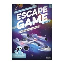 Escape Game Junior - Piégés dans l'Espace (Livre)