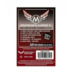 Clear Sleeves - Mini Chimera Game Premium (50) - Mayday Games (43x65 mm)