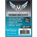 Clear Sleeves - Euro Premium Card (50) - Mayday Games (59x92 mm)