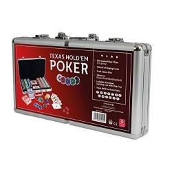 Malette de poker 300 jetons (11.5g)